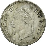Monnaie, France, Napoleon III, Napoléon III, 20 Centimes, 1866, Strasbourg - Francia