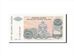 [#155539] Croatie, 5 Millions Dinara Type 1992-93 - Croatie