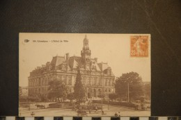 CP, 87, Limoges L'hotel De Ville N°210 - Limoges