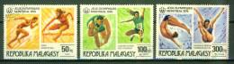 Jeux Olympiques De Montreal - MADAGASCAR - 1976 - Lancer Du Poids, Plongeon, Course - Madagascar (1960-...)