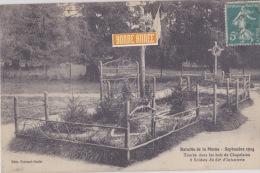 Tombe Dans Les Bois De Chapelaine  8 Soldats Du 62° D'infanterie (bataille De La Marne) - Sonstige Gemeinden
