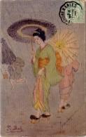Cpa Illustrateur : R. Bob - Japonaises - Other Illustrators