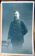 Cpa Photo Officier De Marine, Photo SERENI à BORDEAUX - Personaggi
