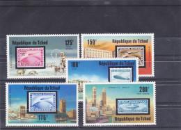 Tchad Aereo 192/95 Y 324  MNH - Ciad (1960-...)