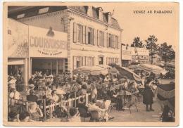 """Givet. Café """"Le Paradou"""".  Venez Au Paradou. Cognac """"Le Courvoisier."""" - Givet"""