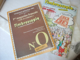 Timbres:timbroscopie N°0 Et 1 - Frans