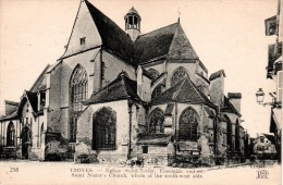 TROYES : Eglise Saint-Nizier, Ensemble Sud-est - Troyes