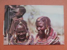 34519 PC:  AFRICA: KENYA:  JAMBO: Pokot People At The Base Of The Cherangani Hills. - Kenya