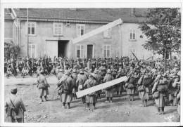 Défilé Des Troupes Françaises Probablement Dans Les Vosges 1 Photo De Presse 1914-1918 14-18 Ww1wwI Wk - War, Military