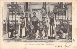 Tonkin - Nam-Dinh - Chanteuses - Vietnam