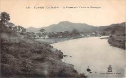 Tonkin - Caobang - La Rivière Et La Chaîne De Montagnes - Vietnam
