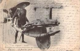 Tonkin - Hanoï - Conducteur De Brouette Transportant Des Cochons - Vietnam