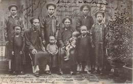 Tonkin - Sontay - Famille Annamite - Vietnam