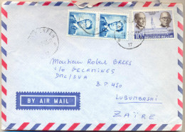 4cp-533: N°926+929+1774:ANTWERPEN B17B > Lubumbashi: BY AIR MAIL : ... - Belgien