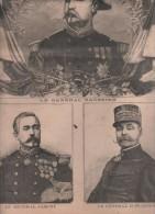 LE PETIT PARISIEN 23 01 1898 - Gal SAUSSIER / JAMONT / ZURLINDEN - TOMBOUCTOU TOUAREG TIRAILLEUR SENEGALAIS - Journaux - Quotidiens
