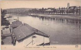 France Chateau Thierry Vue prise du Pont
