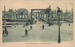 France Cherbourg Le Pont tournant 1930