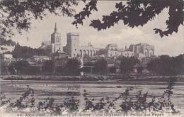 France Avignon Les Bords du Rhone Vue Generale du Palais des Pap