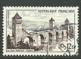 FRANKREICH France 1955 Valentre Bridge Michel 1067 O - Ponti