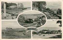 Royaume-Uni - Pays De Galles - Caernarvonshire - Chemins De Fer - Tramways - Tramway -Greeting From Llandudno -Multivues - Caernarvonshire