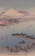 CPA JAPON @ SURUGA @ MIO - NO - MATSUBARA @ Illustration Volcan Vers 1910 - Japon
