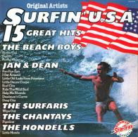 * LP *  SURFIN' U.S.A. - VARIOUS ARTISTS (England EX!!!) - Compilaties