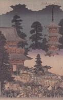CPA JAPON @ YEDO @ Asakusa -  Illustration Vers 1910 - Japon