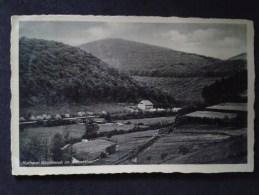 Germany - Hallenberg - Kurhaus - Waldesruh Im Nuhnethal 1935 - 2 Scans - Allemagne