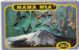 NETHERLANDS - Volcano, Mama Mia Prepaid Card 25 NLG, Exp.date 25/12/02, Used - Vulcani