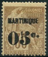 Martinique (1888) N 12 * (charniere)