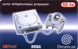 FRANCE PREPAID NET NET JEU GAME SEGA 50F NSB MINT IN BLISTER - Jeux