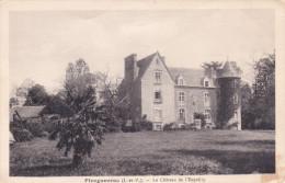 PLEUGUEUNEUC 35 Le Château De L' Esquilly En 1936 - France