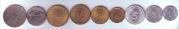 Tunisia 9 Coins Lot - Tunisie