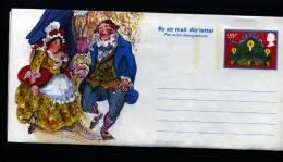 GREAT BRITAIN - 1981  CHRISTMAS  AEROGRAMME   MINT - Entiers Postaux