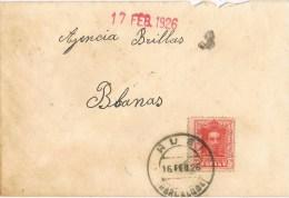 9428. Carta RUBI (Barcelona) 1926 - 1889-1931 Reino: Alfonso XIII