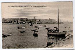 TRENTEMOULT PRES NANTES. LA LOIRE VERS SAINTE ANNE. TBE VIERGE - Nantes