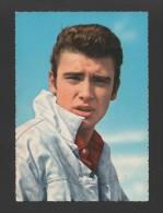 POSTCARD 1960years MOVIE STAR - HOLLYWOOD - ACTOR JOHNNY HALLYDAY - FILMS - Actors