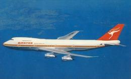 Airplane Avion Qantas Airways  Australia Airline Boeing 747 B - 1946-....: Era Moderna