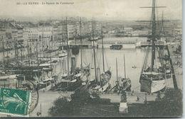 Cp , 76 , LE HAVRE , Le Bassin Du Commerce - Port
