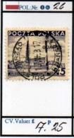 POLAND:REPUBLIC #CLASSIC DEFINITIVES (POL 250-5 (16) - 1919-1939 Republic