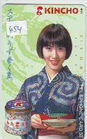 Telecarte (654) GEISHA En Costume Traditionnel /Japanese Woman In Tradional Costume - Japan