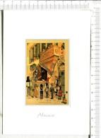 L ALSACE PITTORESQUE  De  HANSI  - M. Schoengauer Dans Sa Maison De Colmar En Train De Réaliser  LA VIERGE AU BUISSON De - Alsace