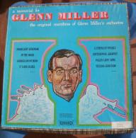 Coffret  4 Vinyles 33 Tours A MEMORIAL OF GLENN MILLER, The Original Members Of Glenn Miller´s - Jazz
