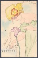 Art Nouveau: Raphael Kirchner - G.10-1 Love thoughts