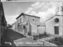SARDEGNA-CAGLIARI-MANDAS VIA CAGLIARI CHIESA SANTA VITALIA - Cagliari