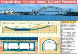 CPM - Telegraph Mirror Harbour Tunnel Souvenir Postcard - Chine (Hong Kong)