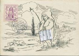 JF0636 Czechoslovakia 1948 Children's Lives Maximum Card MNH - Postal Stationery