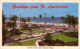 Sunrise Blvd. And Atlantic Ocean In Ft. Lauderdale, Florida - Fort Lauderdale