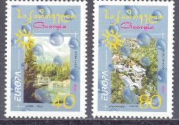 2001. Georgia, Europa 2001, Set, Mint/** - Georgia