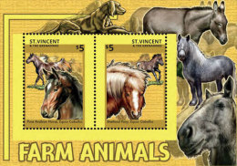 St. Vincent & The Grenadines-2014-Farm Animals - St.Vincent E Grenadine